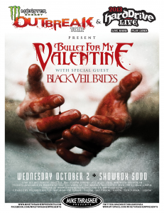 Bullet For My Valentine @ Showbox Sodo - Seattle, Washington, Etats-Unis [02/10/2013]