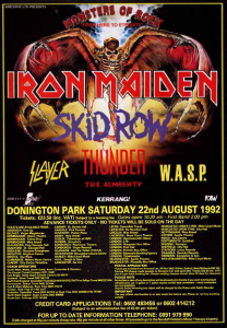 Monsters of Rock @ Donington Park - Donington, Angleterre [22/08/1992]