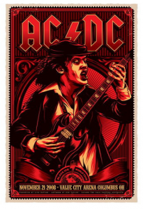 AC/DC @ Value City Arena - Columbus, Ohio, Etats-Unis [21/11/2008]