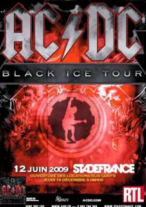 AC/DC @ Stade de France - Saint-Denis, France [12/06/2009]