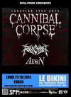 Cannibal Corpse - 27/10/2014 19:00