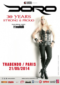 Doro @ Le Trabendo - Paris, France [21/05/2014]