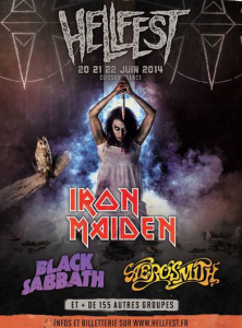 Hellfest Open Air Festival @ Clisson, France [20/06/2014]