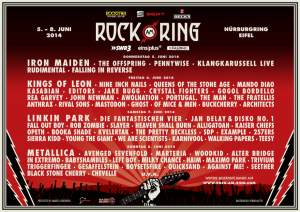 Rock Am Ring @ Nürburg, Allemagne [08/06/2014]