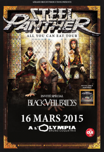Steel Panther @ L'Olympia - Paris, France [16/03/2015]