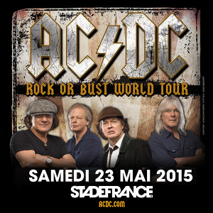 AC/DC @ Stade de France - Saint-Denis, France [23/05/2015]