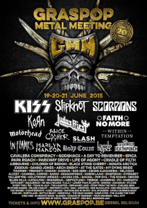 Graspop Metal Meeting 2015 @ Dessel, Belgique [20/06/2015]
