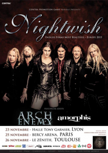 Nightwish @ La Halle Tony Garnier - Lyon, France [23/11/2015]