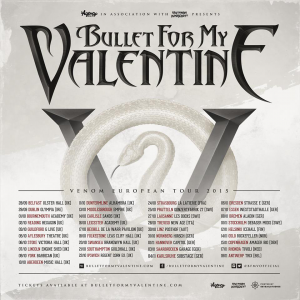 Bullet For My Valentine @ Le Trix - Anvers, Belgique [18/11/2015]