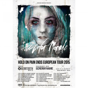 The Color Morale @ Backstage By The Mill - Paris, France [26/05/2015]