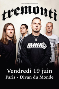 Tremonti @ Le Divan du Monde - Paris, France [19/06/2015]