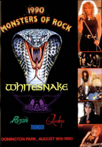 Monsters of Rock @ Donington Park - Donington, Angleterre [18/08/1990]