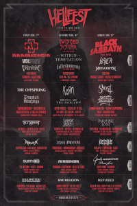 Hellfest Open Air Festival 2016 @ Clisson, France [18/06/2016]