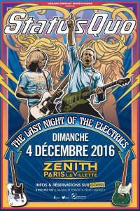 Status Quo @ Le Zénith - Paris, France [04/12/2016]
