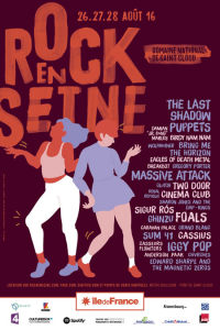 Rock En Seine 2016 @ Domaine de Saint-Cloud - Paris, France [27/08/2016]