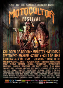 Motocultor Festival Open Air 2016 @ Site de Kerboulard - Saint Nolff, Bretagne, France [21/08/2016]