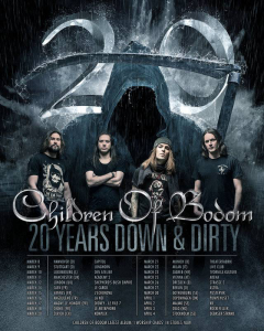 Children Of Bodom @ Den Atelier - Luxembourg, Luxembourg [10/03/2017]