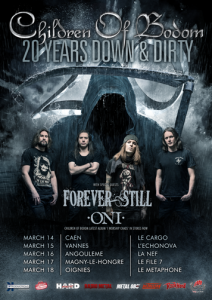 Children Of Bodom @ Le Cargö  - Caen, Basse-Normandie, France [14/03/2017]