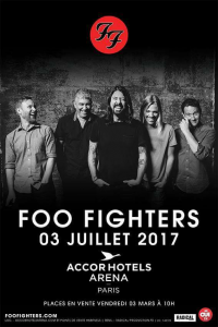 Foo Fighters @ Accor Arena (ex-AccorHotels Arena, ex-Palais Omnisports Paris Bercy) - Paris, France [03/07/2017]