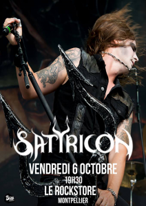Satyricon @ Le Rockstore - Montpellier, France [06/10/2017]