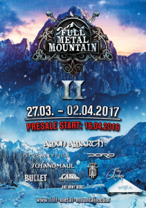 Full Metal Mountain 2017 @ Nassfeld, Autriche [28/03/2017]