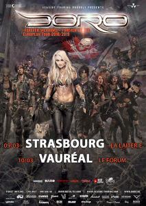 Doro @ Le Forum - Vauréal, France [10/03/2019]