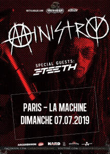 Ministry @ La Machine du Moulin-Rouge - Paris, France [07/07/2019]