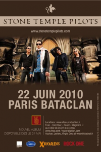 Stone Temple Pilots @ Le Bataclan - Paris, France [22/06/2010]