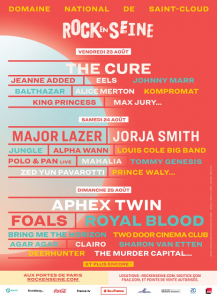 Rock en Seine 2019 @ Domaine de Saint-Cloud - Paris, France [25/08/2019]