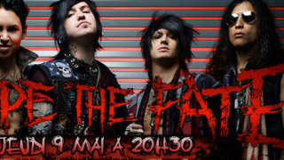 ESCAPE THE FATE dans Metal XS