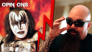 OPINIONS! METAL: NO FUTURE? Gene Simmons • Kerry King