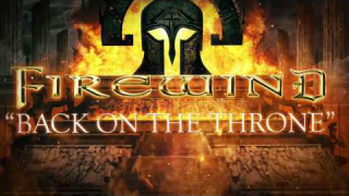"FIREWIND ""Back On The Throne"" (Lyric Video)"