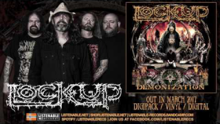 "LOCK UP ""Desolation Architect"" (Audio)"