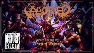 "ABORTED • ""Serpent Of Depravity"" (Audio)"