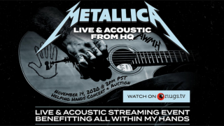 METALLICA  • Le Helping Hands Concert & Auction en livestream