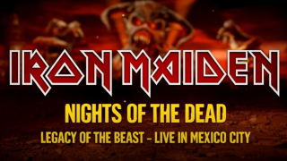 "IRON MAIDEN • L'unboxing de ""Nights Of The Dead"""
