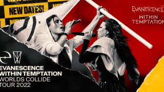 WITHIN TEMPTATION & EVANESCENCE La tournée The Worlds Collide reportée au printemps 2022