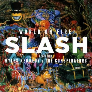 World On Fire (Dik Hayd International / Roadrunner Records)