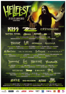 Hellfest 2013 @ Clisson, France [23/06/2013]