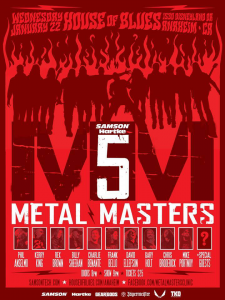 Metal Masters 5 @ House of Blues - Anaheim, California, Etats-Unis [22/01/2014]