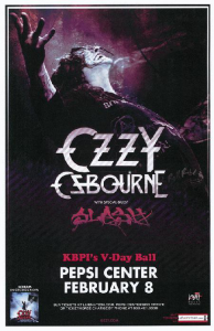 Ozzy Osbourne @ Pepsi Center - Denver, Colorado, Etats-Unis [08/02/2011]