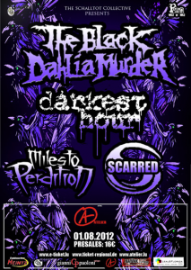 The Black Dahlia Murder @ Den Atelier - Luxembourg, Luxembourg [01/08/2012]