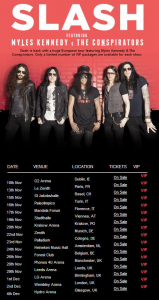 Slash feat. Myles Kennedy and the Conspirators @ Forest National - Bruxelles, Belgique [26/11/2014]