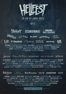 Hellfest Open Air Festival 2015 @ Clisson, France [20/06/2015]