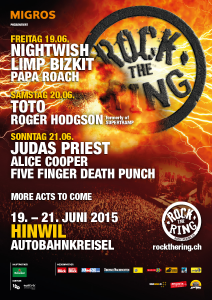 Rock The Ring 2015 @ Zürich, Suisse [21/06/2015]