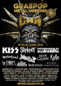 Graspop Metal Meeting 2015 @ Dessel, Belgique [19/06/2015]