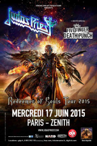 Judas Priest @ Le Zénith - Paris, France [17/06/2015]