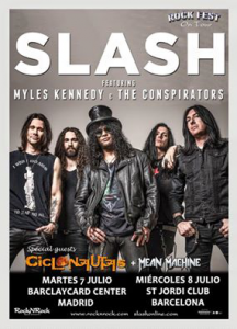 Slash feat. Myles Kennedy and the Conspirators @ Sant Jordi Club - Barcelone, Espagne [08/07/2015]