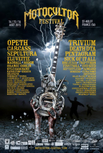 Motocultor Festival Open Air @ Site de Kerboulard - Saint Nolff, Bretagne, France [16/08/2015]