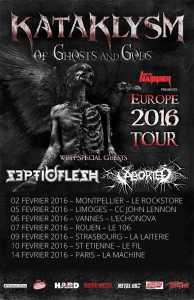 Kataklysm @ La Machine du Moulin-Rouge - Paris, France [14/02/2016]